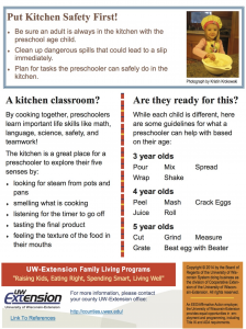 Cooking with Preschoolers Page 2